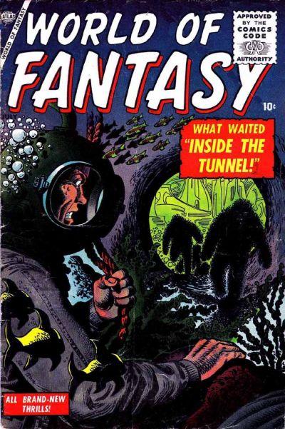 Cover for World of Fantasy (Marvel, 1956 series) #2