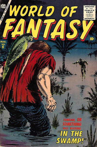Cover for World of Fantasy (Marvel, 1956 series) #6