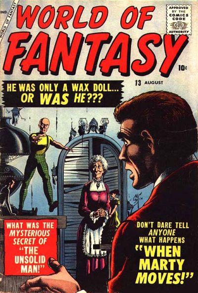 Cover for World of Fantasy (Marvel, 1956 series) #13