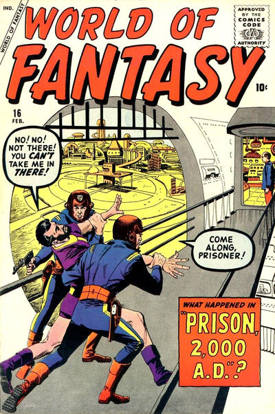 Cover for World of Fantasy (Marvel, 1956 series) #16