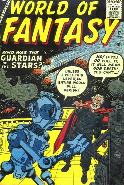 Cover for World of Fantasy (Marvel, 1956 series) #17