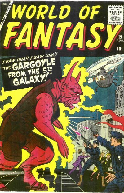 Cover for World of Fantasy (Marvel, 1956 series) #19
