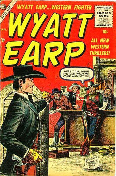 Cover for Wyatt Earp (Marvel, 1955 series) #2