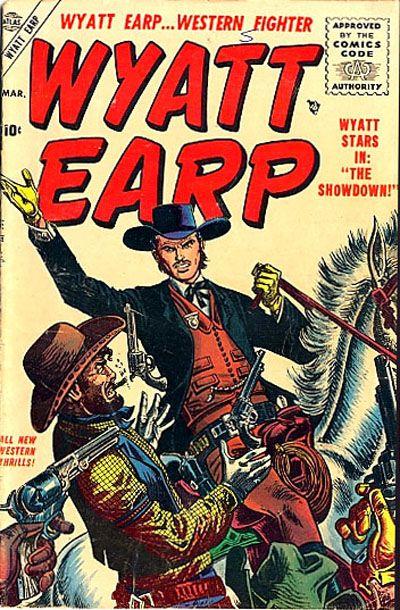 Cover for Wyatt Earp (Marvel, 1955 series) #3