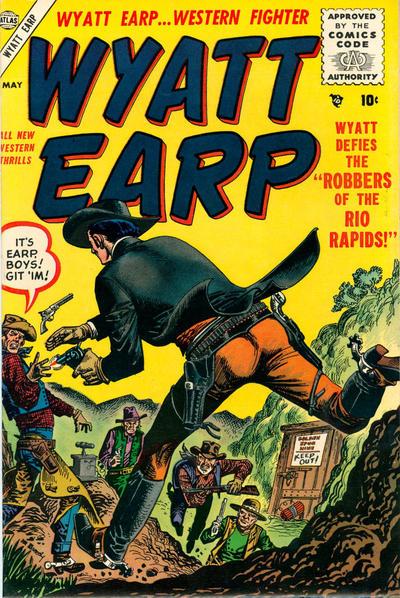 Cover for Wyatt Earp (Marvel, 1955 series) #4