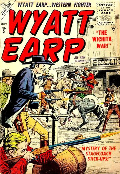 Cover for Wyatt Earp (Marvel, 1955 series) #5