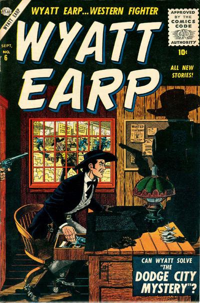 Cover for Wyatt Earp (Marvel, 1955 series) #6