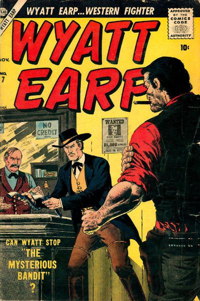 Cover for Wyatt Earp (Marvel, 1955 series) #7