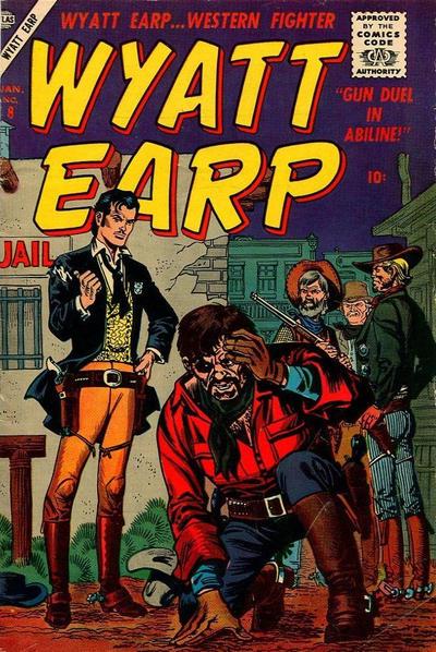 Cover for Wyatt Earp (Marvel, 1955 series) #8