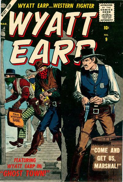 Cover for Wyatt Earp (Marvel, 1955 series) #9