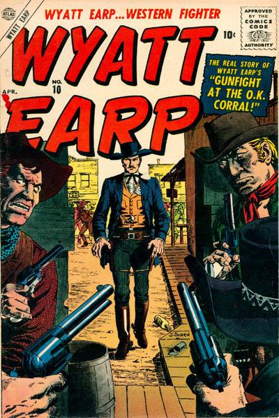 Cover for Wyatt Earp (Marvel, 1955 series) #10