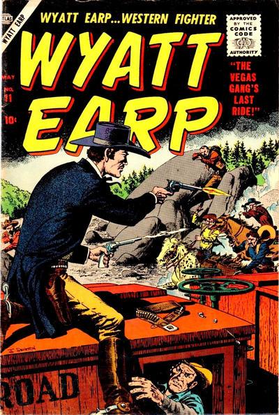 Cover for Wyatt Earp (Marvel, 1955 series) #11