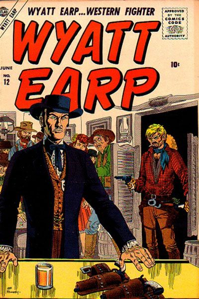 Cover for Wyatt Earp (Marvel, 1955 series) #12