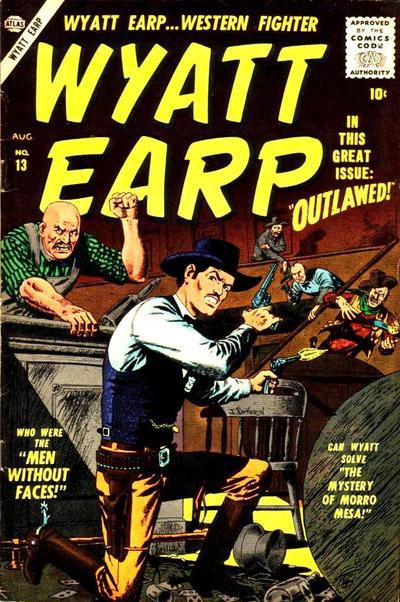 Cover for Wyatt Earp (Marvel, 1955 series) #13