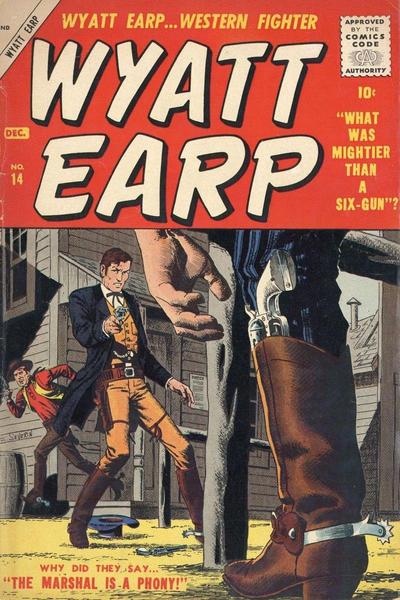 Cover for Wyatt Earp (Marvel, 1955 series) #14