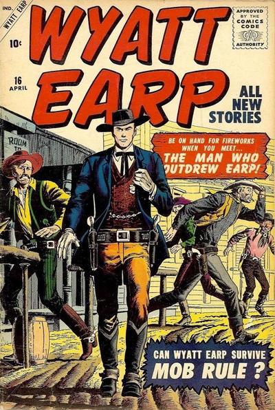 Cover for Wyatt Earp (Marvel, 1955 series) #16