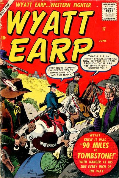 Cover for Wyatt Earp (Marvel, 1955 series) #17