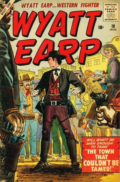 Cover for Wyatt Earp (Marvel, 1955 series) #18