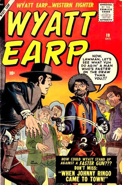 Cover for Wyatt Earp (Marvel, 1955 series) #19