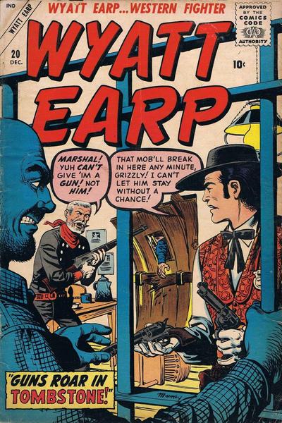 Cover for Wyatt Earp (Marvel, 1955 series) #20