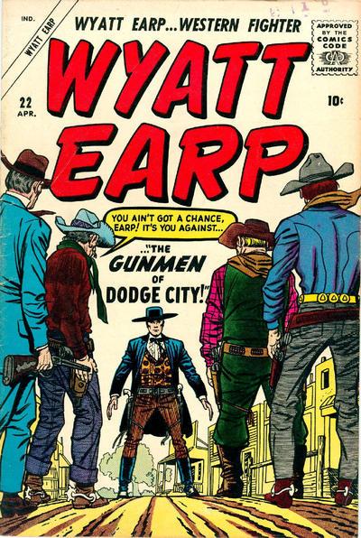 Cover for Wyatt Earp (Marvel, 1955 series) #22