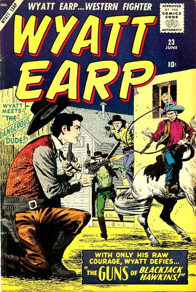 Cover for Wyatt Earp (Marvel, 1955 series) #23
