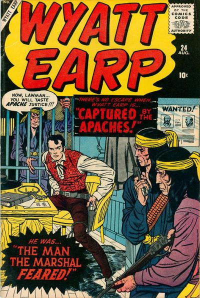 Cover for Wyatt Earp (Marvel, 1955 series) #24