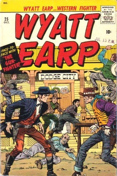 Cover for Wyatt Earp (Marvel, 1955 series) #25