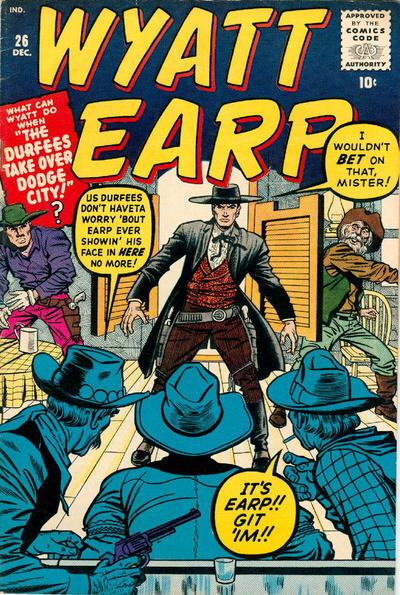 Cover for Wyatt Earp (Marvel, 1955 series) #26
