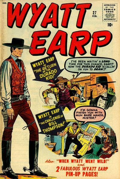 Cover for Wyatt Earp (Marvel, 1955 series) #27