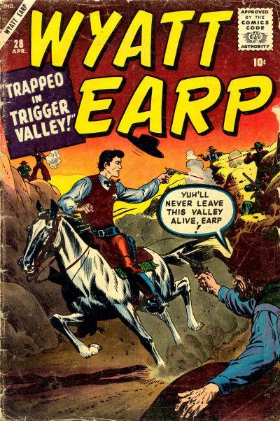 Cover for Wyatt Earp (Marvel, 1955 series) #28