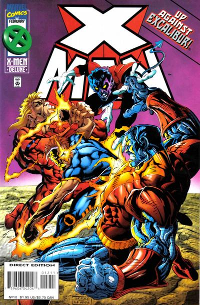 Cover for X-Man (Marvel, 1995 series) #12 [Direct Edition]