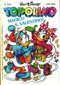 Cover Thumbnail for Topolino (Disney Italia, 1988 series) #1837