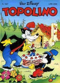 Cover Thumbnail for Topolino (The Walt Disney Company Italia, 1988 series) #1947