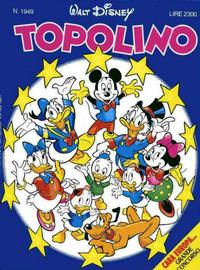 Cover Thumbnail for Topolino (The Walt Disney Company Italia, 1988 series) #1949