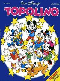 Cover Thumbnail for Topolino (Disney Italia, 1988 series) #1949
