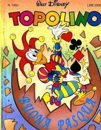 Cover Thumbnail for Topolino (Disney Italia, 1988 series) #1950