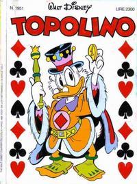Cover Thumbnail for Topolino (Disney Italia, 1988 series) #1951
