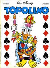 Cover Thumbnail for Topolino (The Walt Disney Company Italia, 1988 series) #1952