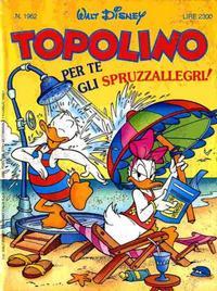Cover Thumbnail for Topolino (Disney Italia, 1988 series) #1962