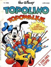 Cover Thumbnail for Topolino (Disney Italia, 1988 series) #1966