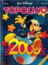 Cover Thumbnail for Topolino (The Walt Disney Company Italia, 1988 series) #2000