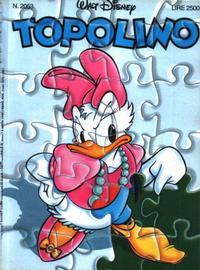 Cover for Topolino (The Walt Disney Company Italia, 1988 series) #2053