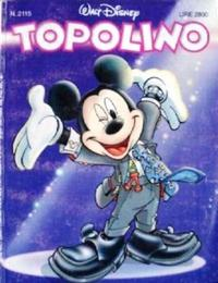 Cover Thumbnail for Topolino (The Walt Disney Company Italia, 1988 series) #2115