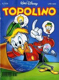 Cover Thumbnail for Topolino (The Walt Disney Company Italia, 1988 series) #2238