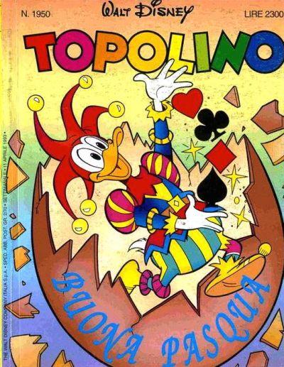 Cover for Topolino (The Walt Disney Company Italia, 1988 series) #1950