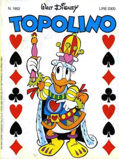 Cover for Topolino (The Walt Disney Company Italia, 1988 series) #1952