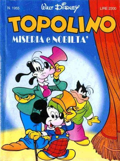 Cover for Topolino (The Walt Disney Company Italia, 1988 series) #1955