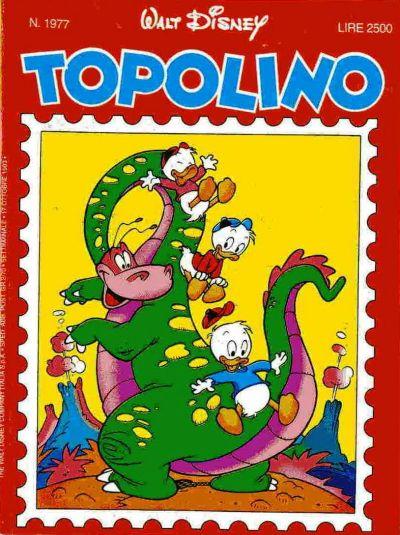 Cover for Topolino (The Walt Disney Company Italia, 1988 series) #1977