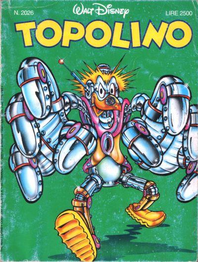 Cover for Topolino (The Walt Disney Company Italia, 1988 series) #2026